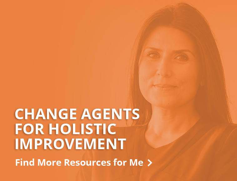 Resources for change agents - button