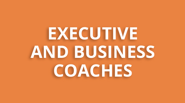 Executive and business coaches - button