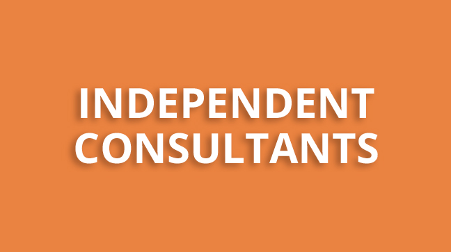 Independent consultants - button