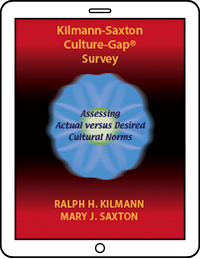 Kilmann-Saxton Culture-Gap Survey cover image