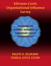Kilmann-Covin organizational influence survey cover image