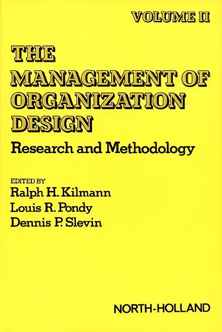 Organizational Design II
